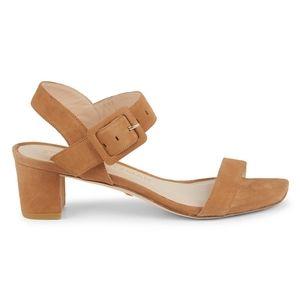 Alexandrine Suede Slingback Sandals